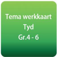 Tema werkkaart & Memo - Tyd - Gr.4 - 6