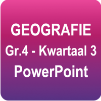 Geografie - Graad 4 - Kwartaal 3 Power Point