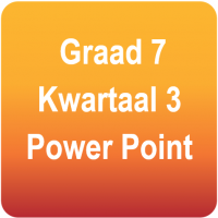 Natuurwetenskappe - Gr.7 - Kwartaal 3 Power Point